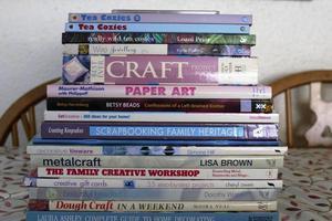 17 assorted craft books.
