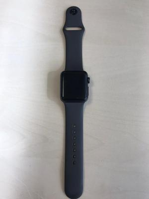 Apple Watch Series 3 38mm Space Grey Aluminium Case with Black Sport Band (USED)