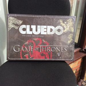"BRAND NEW ""GAME OF THRONES"" cluedo board game"