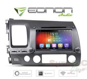 "CAR RADIO Eonon GAS for Honda Civic Left Drive 8"" HD"