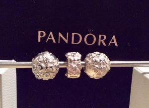 Genuine Pandora Poetic Bloom Clip Charms, from £16