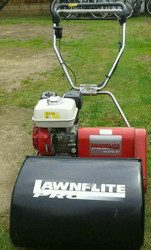 LAWNFLITE TD 500 GH PRO GOLF 10 BLADE CYLINDER LAWN MOWER POWERED BY HONDA GX  hp