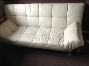 Leather bed settee in Bristol