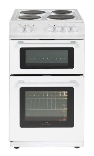 NEW WORLD NW50 ELECTRIC COOKER 50CM WIDE, ONLY 4 WEEKS OLD £