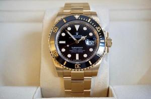 Rolex Submariner Full Gold Wrapped 18K LN