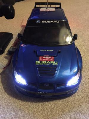 Tamiya TT-01 Subaru Impreza WRC  remote control car