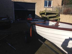 17ft Lake boat with outboard for sale