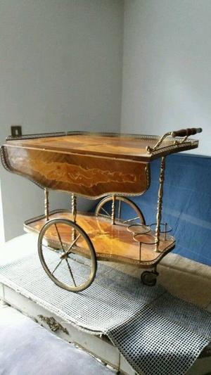 Antique Italian Sorento drinks trolley