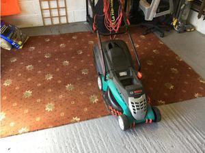 Bosch Rotac 430 mower in Batley