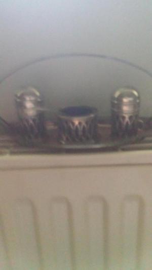 Cruet Set Silver plated