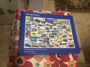 Great british cars puzzle  pieces VGC