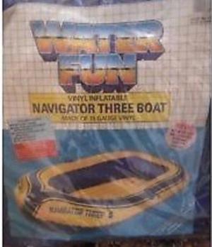 Inflatable vinyl navigator 3 boat