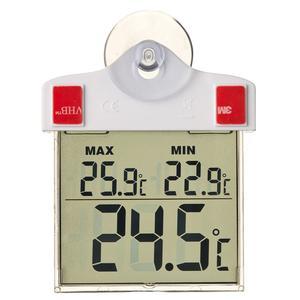 Nature Digital Window Thermometer 13x10x3 cm