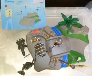 Playmobil . Knights Super Set - Bridge,Knights,Cannon