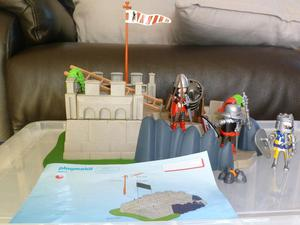 Playmobil  Knights mini castle with large cannon