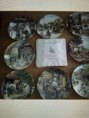 Royal dalton plate collection