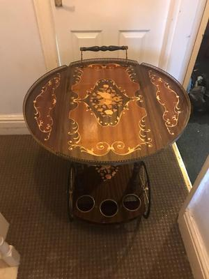 Table/drinks trolley vintage + free delivery