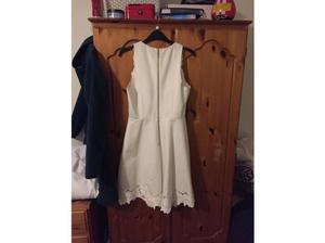 Ted Baker cream dress size 8-10 in Cardiff