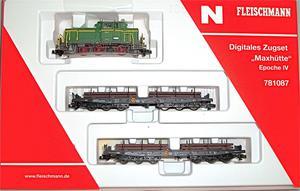 Train Set Max Cabin Digital Loco M 2 Car Fleischmann