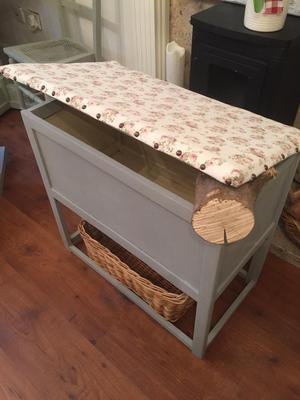Vintage blanket/toy/storage box