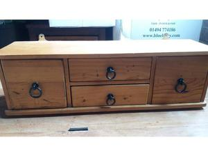 cute small wooden cabinet - can be wall mounted or free