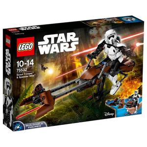 lego star wars scout trooper and speed bike