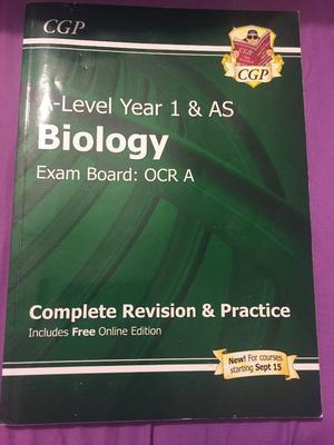 Biology AS revision guide