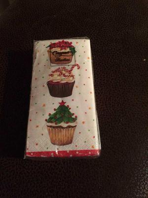 Cupcake print tissues *new*