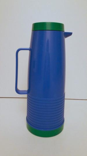 Retro Vintage Thermos Jug Flask With Handle and Spout, One Litre Capacity