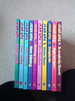 Set of 10 Books by Jean Ure