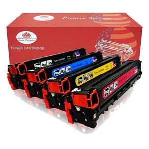 Toner Kingdom 3 Pack Replacement Toner Cartridges for HP LaserJet - Compatibles