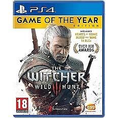 Witcher 3 game of the year edition for sale, great condition at a great price.