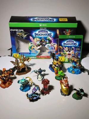 Xbox one Skylanders imaginator starter pack with extra figures