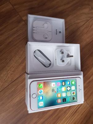 iPHONE 6S UNLOCKED MINT ROSE GOLD 16 GB BOX BRAND NEW ACCESSORIES£190
