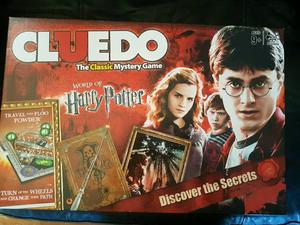 HARRY POTTER CLUEDO GAME PLAYED ONCE