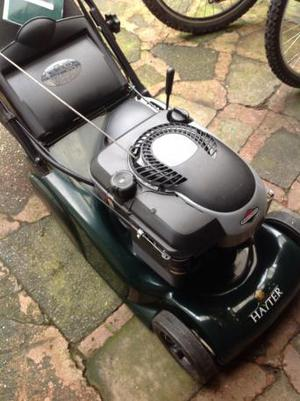 Hayter harrier 41 with pull or electric start as new