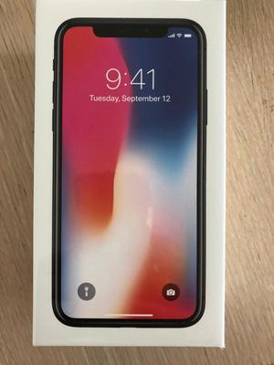IPhone X brand new in box space grey 64 gb on EE/sky/virgin
