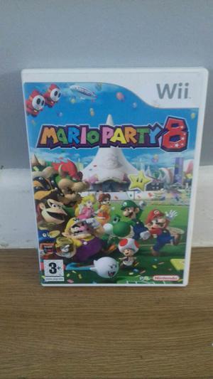 Nintendo wii Mario party 8 game