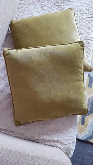Olive Green Cushions