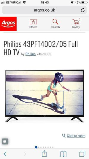 Philips 43 inch LED TV