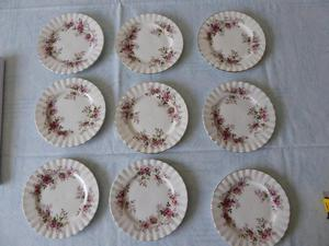 Royal Albert Lavender Rose 3 side plates 2nd quality