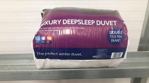 Brand New Silent Night Luxury Deep Sleep Double Duvet 1