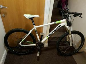 Chris boardman comp mountain bike with fluid brakes