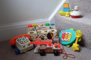 Fisher Price and other toys