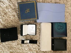 Good quality jewellery boxes (Various sizes/styles)