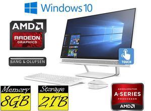 "HP 24-b212na 24"" FullHD Touchscreen Quad Core A12 8GB RAM"