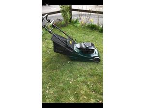 Hayter Harrier 48 variable speed Petrol Lawn mower in