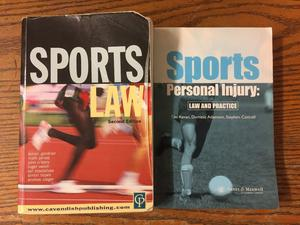 Law Books - Sports Law and Sports Personal Injury