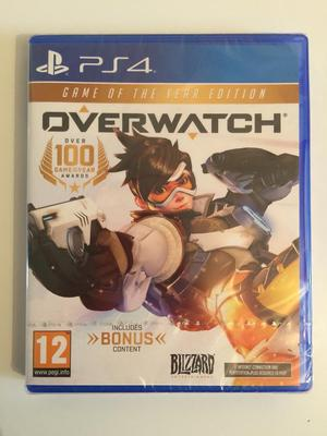 OVERWATCH GAME OF THE YEAR (ps4) sealed
