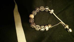 Pandora bangle full of pandora charms